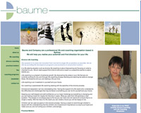 Baume website - Divorce Life Coaching